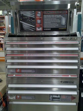 Husky 36 Quot Wide Stainless Steel Tool Chest The Amc Forum